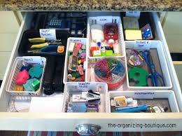 Organizing Desk Drawers Plastic Organizers Office Organization Tips