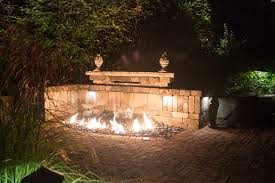 Outdoor Water Features With Lights by Fire Pits U0026 Water Features Essex Outdoor Design
