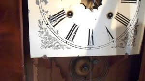 Forestville Mantel Clock Antique Waterbury Ogee Mantel Clock 30 Hour Youtube