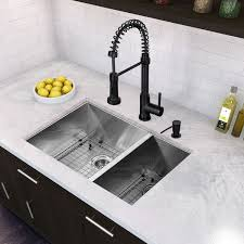 kitchen sink faucet set all in one 29 inch stainless steel undermount kitchen sink and