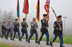 Germany Flag Ww2 German American Partnership Celebrated At World War Ii Observance
