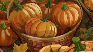 orange pumpkins halloween autumn hd desktop wallpaper widescreen