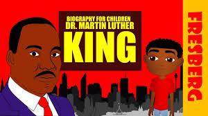 black history dr martin luther king jr biography for kids