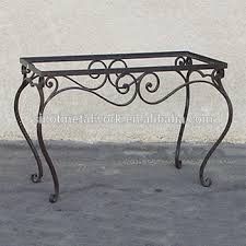 wrought iron pedestal table base decorative metal table base wrought iron table base for marble and