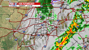 heavy and storms to open the weekend on warm winds fox59