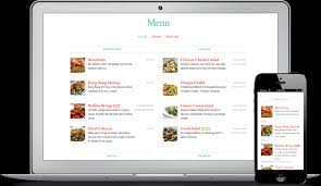 restaurant website design solution