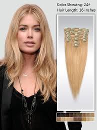 16 inch hair extensions 16 inch hair extensions 95g uss2416 vpfashion