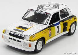 renault 5 rally universal hobbies uh4551 scale 1 18 renault 5 turbo n 3 winner