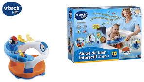 siege interactif vtech vtech 2 in 1 bath seat with detachable activity board