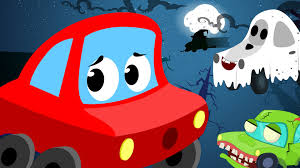 halloween animated clipart little red car it u0027s halloween night scary song youtube