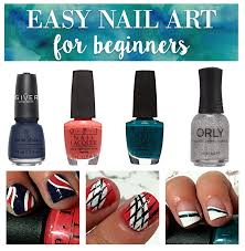 easy nail art for beginners back to hairspray and
