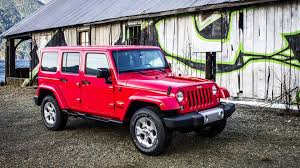 jeep sahara red 2015 jeep wrangler sahara test drive review