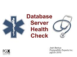 sql server health check report template database health check