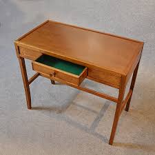 Small Oak Writing Desk by Antiques Atlas Hall Table Quality Bespoke English Oak Small