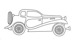 car cartoon coloring activity printable coloring pages