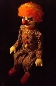 clown puppets for sale haunted ventriloquist doll follow you creepy clown dummy