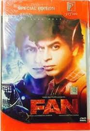 fan 2016 2 disc dvd all region hindi movie with english subtitles