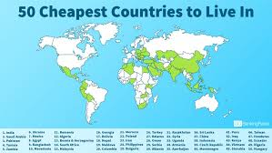 cheapest cities to live in the world 50 cheapest countries to live in gobankingrates