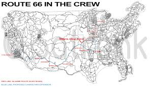 Us Route 66 Map by The Crew Route 66 Adjustment Imgur