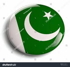 Pakistans Flag Pakistan Flag Design Round Badge Stock Illustration 188883041