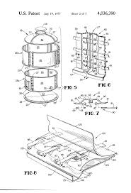 patent us4036390 plastic tank panels and joint assembly google