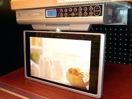 kitchen televisions under cabinet kitchen tv under cabinet under cabinet kitchen television kitchen tv