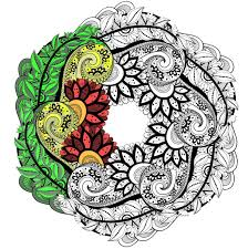 difficult halloween coloring pages mandalas coloring pages for adults justcolor