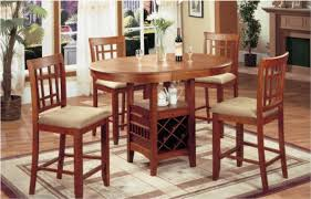 dining table with wine storage pub table with wine rack cosmecol