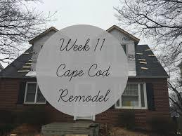 week 11 cape cod remodel youtube