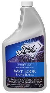 wet look natural stone sealer from black diamond stoneworks
