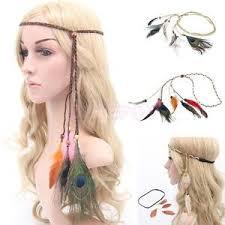 boho hair accessories indian dress feather headpiece showgirl headdress boho hair