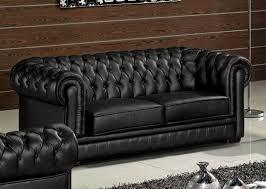 canapé imitation chesterfield ensemble 3 pièces canapé 3 places 2 places fauteuil en cuir luxe