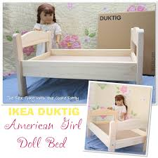american doll craft make an adorable polka dot doll bed