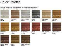 metallic paint collection modern masters cafe blog