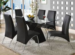 lodia black lacquer modern table set