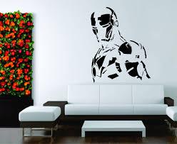 online get cheap mural 3d comics aliexpress com alibaba group kids room wall sticker decal vinyl decor mural iron man super hero comics fighter symbol