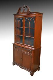 mahogany china cabinet furniture sold mahogany duncan phyfe step back china cabinet closet 1940s