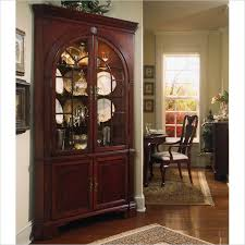 Ideas Design For Lighted Curio Cabinet Wonderful Cherry Corner China Cabinet 36 For Home Decor Ideas With