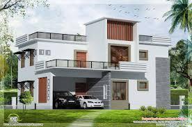 bedroom contemporary flat roof house kerala home design floor