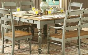 Distressed Dining Room Table Dining Rooms Cozy Rustic Grey Wooden Dining Table Dining Room