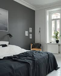 Grey Wall Bedroom My Unfinished Home Grey Walls Grey And Dark
