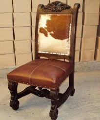 shocking ideas rustic leather dining room chairs ranch furniture