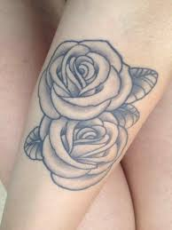 beautiful roses on forearm tattoo skull and rose s dove with dove