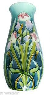 Vase With Irises 155 Best Moorcroft Images On Pinterest Ceramic Pottery