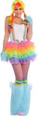 Rainbow Dash Halloween Costume Raving Rainbow Dash Costume Pony Party