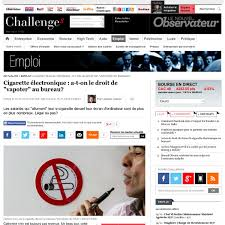 vapoter au bureau cigarette électronique a t on le droit de vapoter au bureau