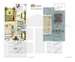 maisonette floor plan model villas floor plans