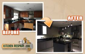 should i spray paint kitchen cabinets colour guide for painting kitchen spray respray my