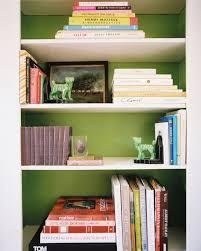 Decorating Bookshelves Ideas by Best 20 Green Bookshelves Ideas On Pinterest Green Library