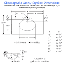 amazing sinks 2017 standard bathroom sink size ideas for